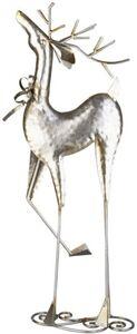 Rentier - aus Metall - 24 x 11 x 63,5 cm