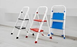Kraft Werkzeuge Klapptritt mit 2 Stufen, Blau