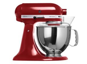 KITCHENAID 5KSM150PSEGC Artisan Küchenmaschine, 300 Watt in Zimtrot