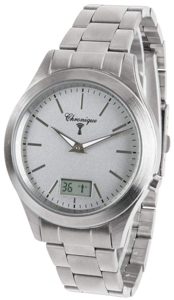 Bild 1 von CHRONIQUE Funk-Armbanduhr - mit deutscher Funktechnologie!