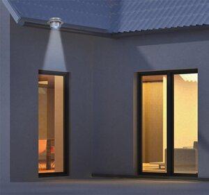 näve LED Dachrinnenleuchte »LED Solar Leuchten - 6er Set«, 1-flammig, Wetterfest