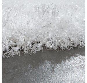 Hochflor-Teppich »Glamour 300«, Paco Home, rechteckig, Höhe 70 mm, Shaggy mit weichem Glanz Garn in Uni