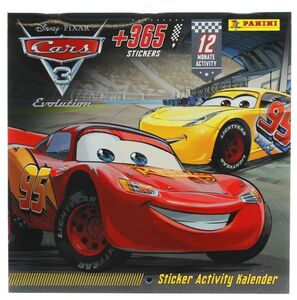 Disney Cars - Sticker Activity Kalender - Immerwährender Kalender