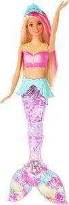 Barbie Dreamtopia - Glitzerlicht Meerjungfrau - mit leuchtender Schwanzflosse
