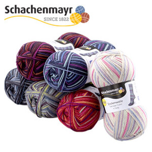 Strumpfwolle 4-fädig, 100 g, 75 % Schurwolle/25 % Polyamid, Lauflänge ca. 420 m