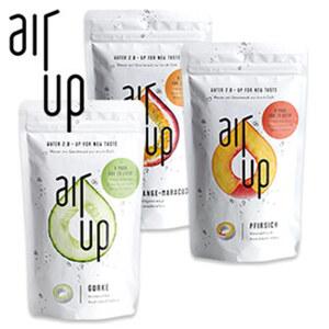 """Duftpods für """"air up"""" - 3er-Pack - versch. Geschmacksrichtungen, o. Abb. Starter-Set """"air up"""" - 6-teilig, inkl. Trinkflasche 29,95 €"""
