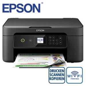 Expression Home XP-3100 · Kostengünstig Drucken mit separaten Einzelpatronen · Kabellos drucken von mobilen Geräten