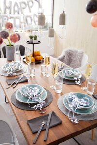 Home affaire Tafelservice »Bel Tempo« (12-tlg), Keramik