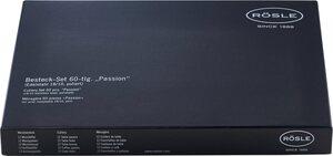 ROESLE Besteck-Set »Passion«, Edelstahl 18/10, 60 Teile, Geschenkkarton
