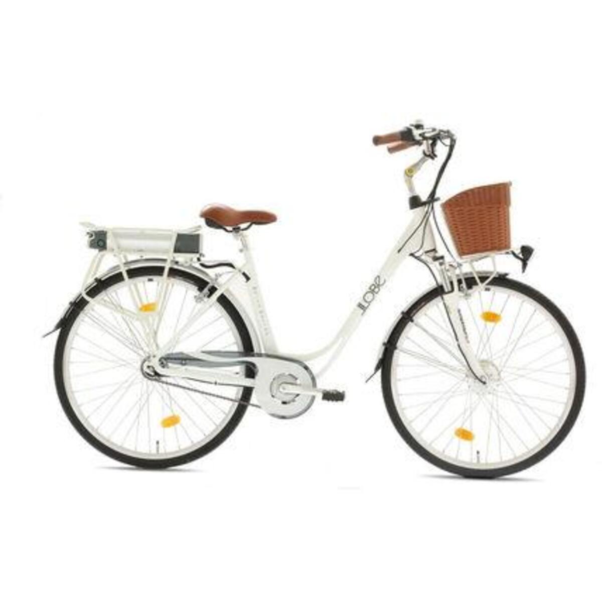 """Bild 2 von LLobe E-Bike 28"""" Alu City White Motion 8 G"""