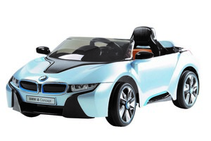 Ride on BMW i8 Edition, Blau, Elektrowagen für Kinder