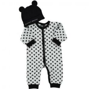 Mickey Just Born Strampler