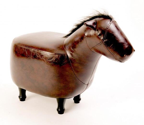 HappyHome Tierhocker Pferd