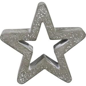 Dekofigur Stern klein 15,2 cm aus massivem Zement