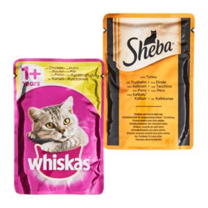 Sheba Maxi-Pack / Whiskas Special-Mix