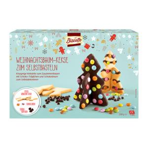 BISCOTTO     Weihnachtsbaum-Kekse zum Selbstbasteln