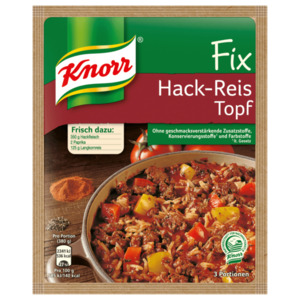 Knorr Fix Hack-Reis-Topf 49g