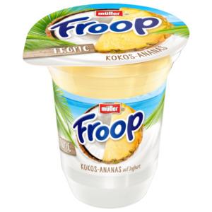 Müller Froop Fruchtsafari Kokos-Ananas 150g