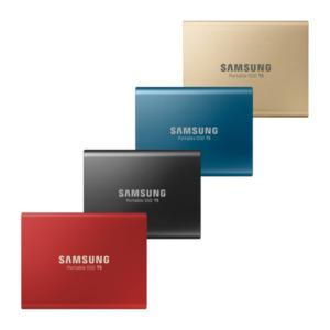 Samsung Festplatte Portable SSD T5