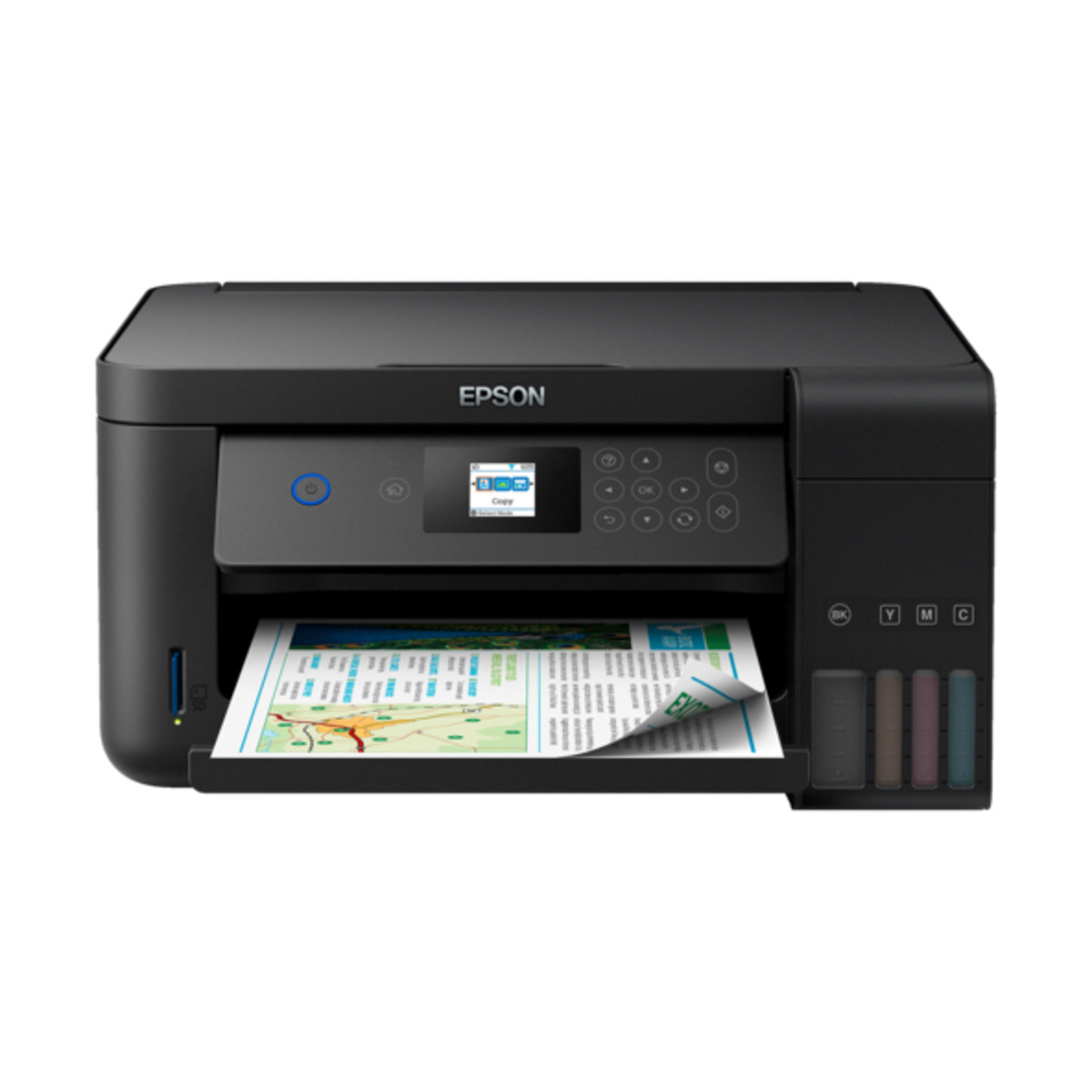 Bild 2 von WLAN-Tintenstrahldrucker, Epson EcoTank ET-2750, schwarz