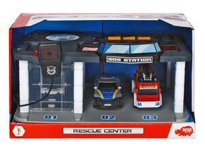 Dickie Toys Rettungsstation mit Licht und Sound