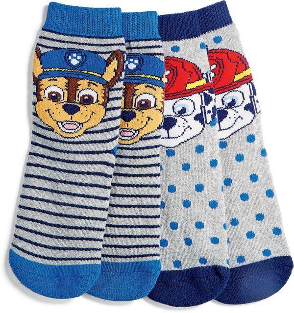 Kinder ABS Socken, 2er Pack - Paw Patrol boys, Gr. 23/26