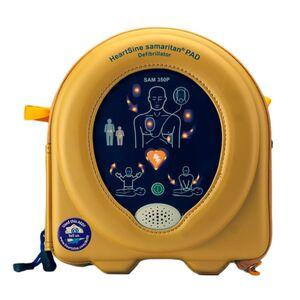 MEDX5 HeartSine SAM350P AED, manuelle Schockauslösung, 8 J. Garantie