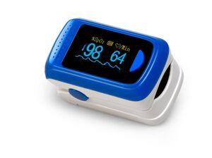 MEDX5 Fingerpuls- und Sauerstoffmessgerät, STK-prüfbar