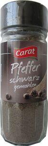 Carat Pfeffer schwarz, gemahlen 50 g