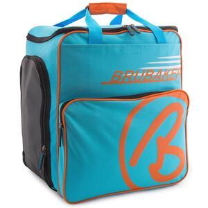 Brubaker Super Champion Skischuhtasche Helmtasche Skischuhrucksack Blau Orange