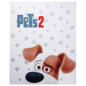 Kinder-Fleece-Decke 130x160 cm Pets 2