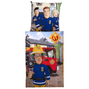 Kinder-Bettwäsche-Set 135x200 cm Feuerwehrmann Sam