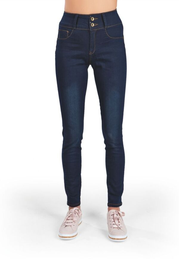 SLIMmaxx Komfort-Jeans One4All blau Gr. 44-50