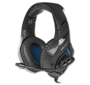 INTEMPO PC-Gaming-Over-Ear-Headset mit komfortabler Polsterung, inkl. Mikro