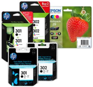 HP oder EPSON Druckerpatronen