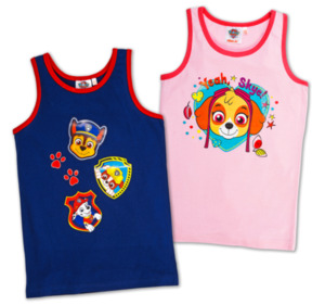 LIZENZ Mädchen- oder Jungen-Unterhemden