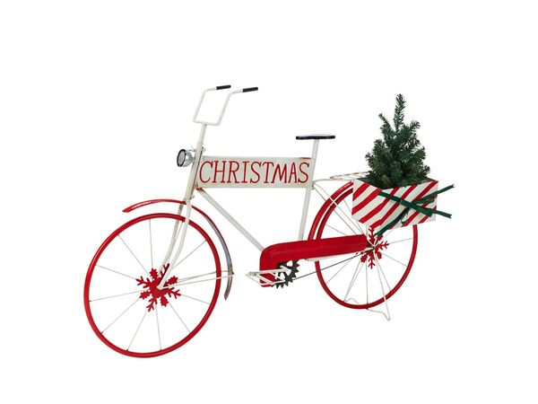 Pureday Deko-Objekt Santas Bike