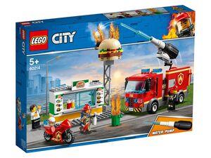 LEGO® City 60214 Feuerwehreinsatz im Burger Restaurant