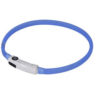 LED-Silikonring blau