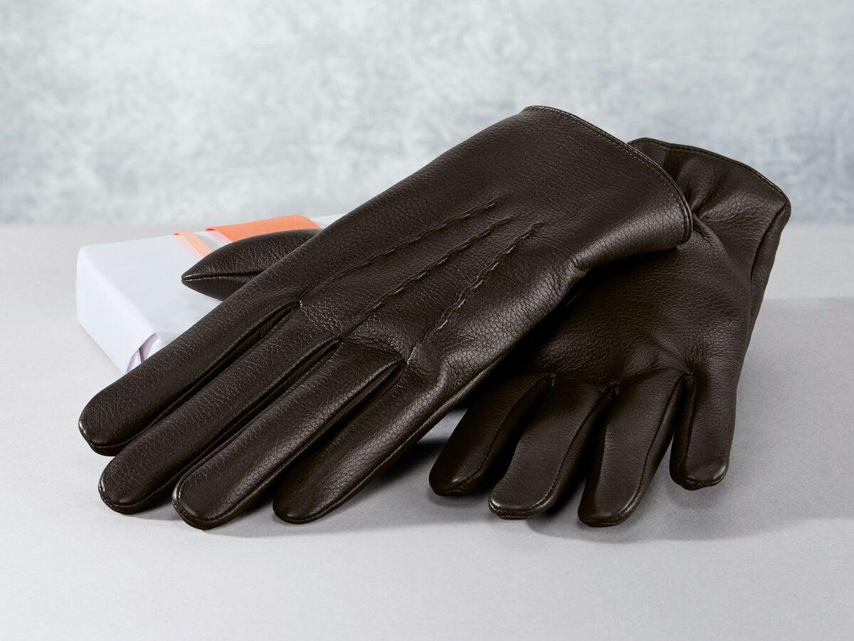 Bild 3 von LIVERGY® Herren Lederhandschuhe