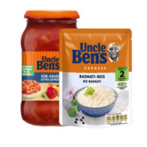 Uncle Ben's Express Reis, Reis im Kochbeutel / lose oder Sauce