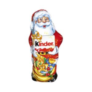 Kinder-Schokolade Weihnachtsmann