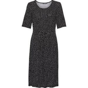 Adagio Damen Jersey-Kleid, gemustert