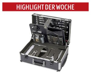 WORKZONE®  Werkzeugtrolley, 128-tlg.