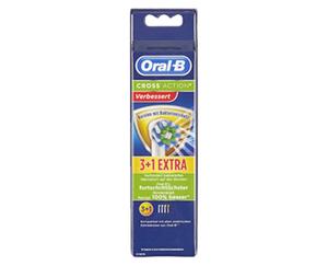 Oral-B® CROSSACTION®  BAKTERIENSCHUTZ Aufsteckbürsten