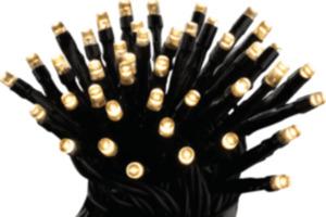 Dekorieren & Einrichten Lichterkette 40 Lichter warm-weiß mit Timer