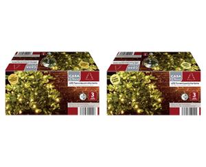 CASA Deco LED-Tannenbaum- oder Mikro-LED-Tannenbaumlichterkette