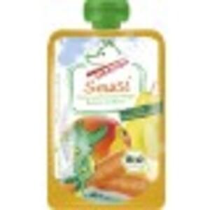 Tabaluga Bio Smusi Karotte-Mango-Banane-Birne 100 g