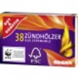EDEKA Zündhölzer 10x 38 Stk