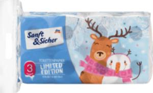 Sanft&Sicher Toilettenpapier Sommer 8 x 180 Blatt